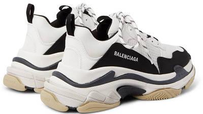 Balenciaga Triple S Mesh White Black 22831760541602292 back