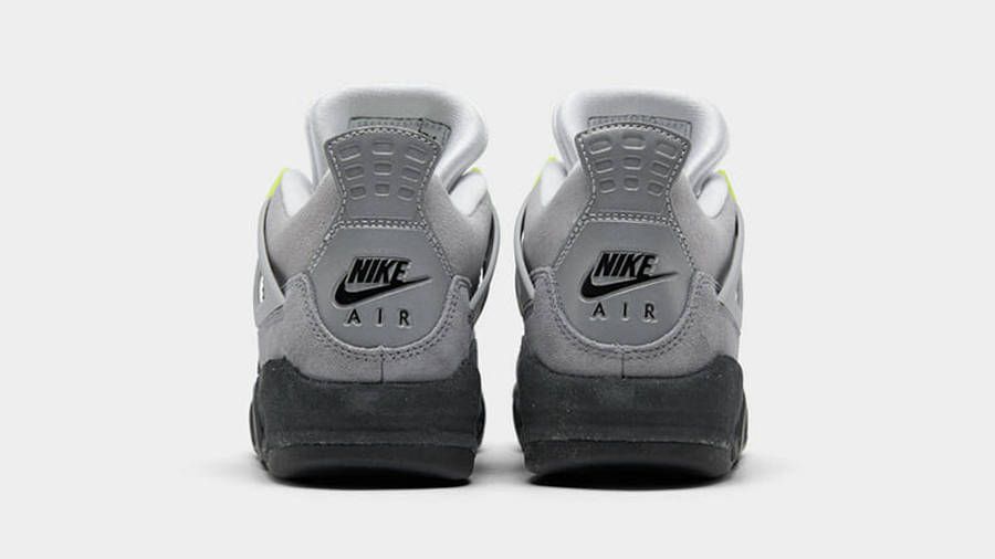 Jordan 4 SE Neon Grey CT5342-007 back