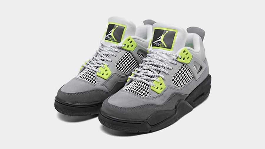 Jordan 4 SE Neon Grey CT5342-007 front
