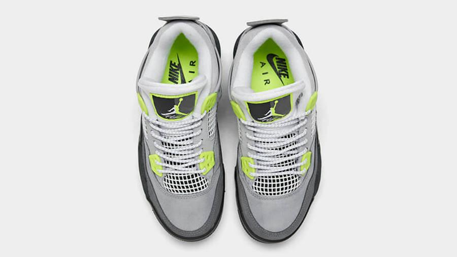 Jordan 4 SE Neon Grey CT5342-007 middle