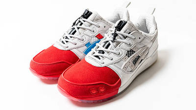 Mita Sneakers x Mitsui x Kunii x ASICS Gel Lyte 3 Red White 1193A185-000 front