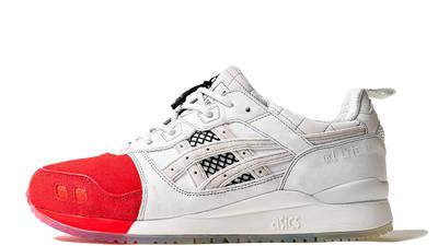 Mita Sneakers x Mitsui x Kunii x ASICS Gel Lyte 3 Red White 1193A185-000