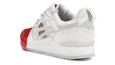 Mita Sneakers x Mitsui x Kunii x ASICS Gel Lyte 3 Red White Back