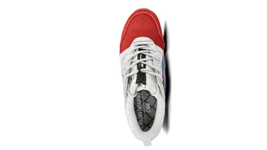 Mita Sneakers x Mitsui x Kunii x ASICS Gel Lyte 3 Red White Middle