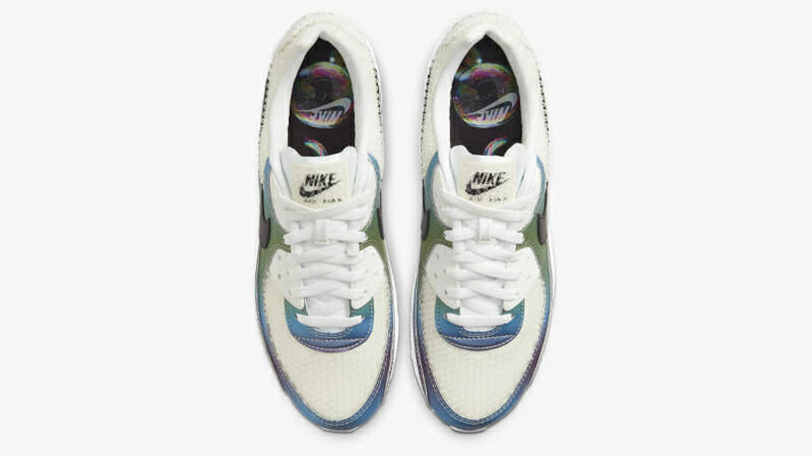 Nike Air Max 90 Bubble Pack White Middle
