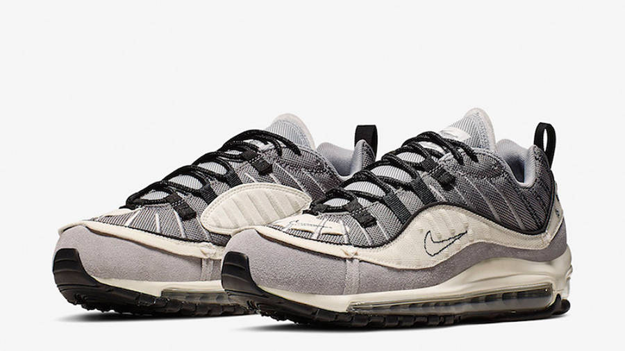 Nike Air Max 98 Inside Out Wolf Grey AO9380-002 front