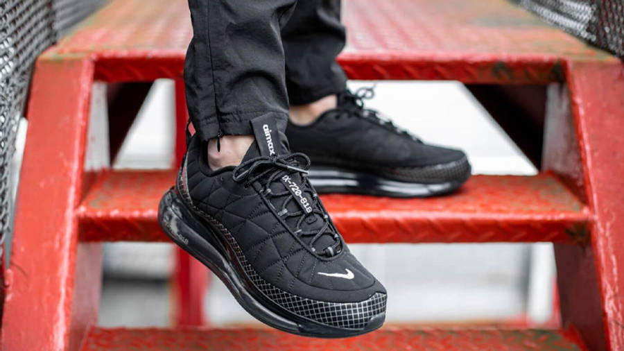 Nike MX 720-818 Black On Foot Front