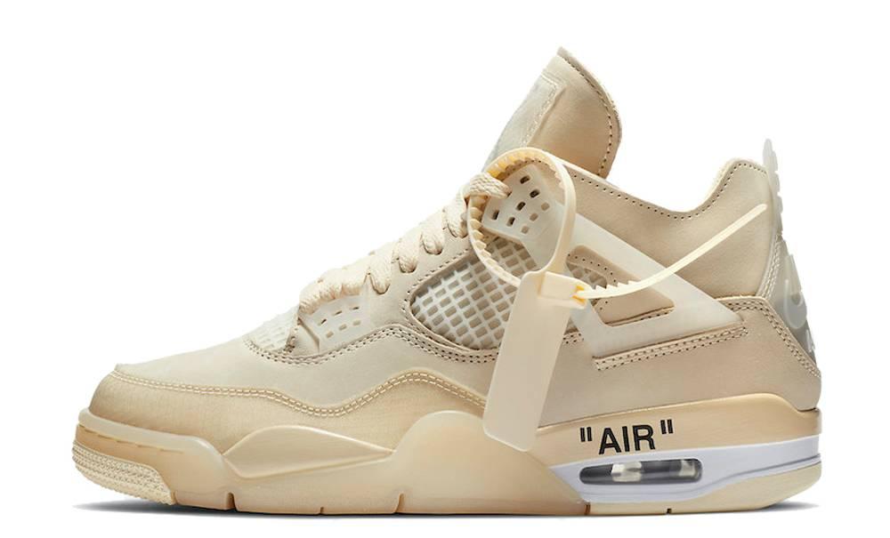 frágil analogía arbusto  Off-White x Nike Air Jordan 4 White | Where To Buy | CV9388-100 | The Sole  Supplier