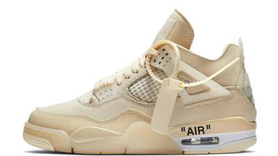 Off-White x Nike Air Jordan 4 White