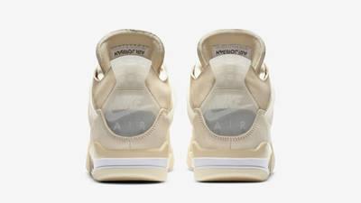 Off-White x Nike Air Jordan 4 White Back