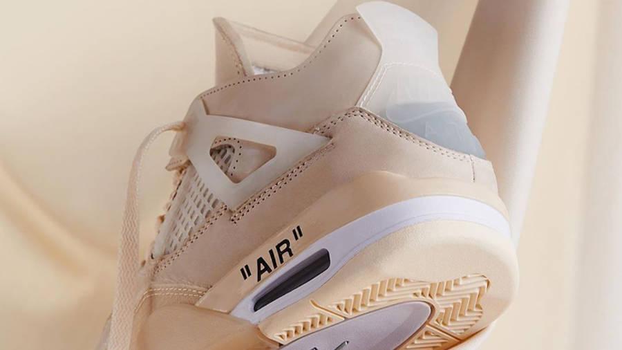 Off-White x Nike Air Jordan 4 White Lifestyle