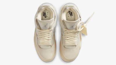 Off-White x Nike Air Jordan 4 White Middle