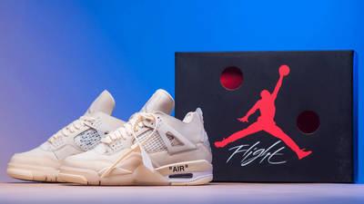 Off-White x Nike Air Jordan 4 White Packing