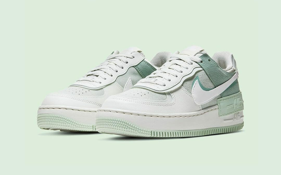 The Nike Air Force 1 Shadow Gets The Pistachio Treatment The