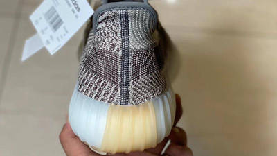 Yeezy Boost 350 V2 Zyon In Hand Back