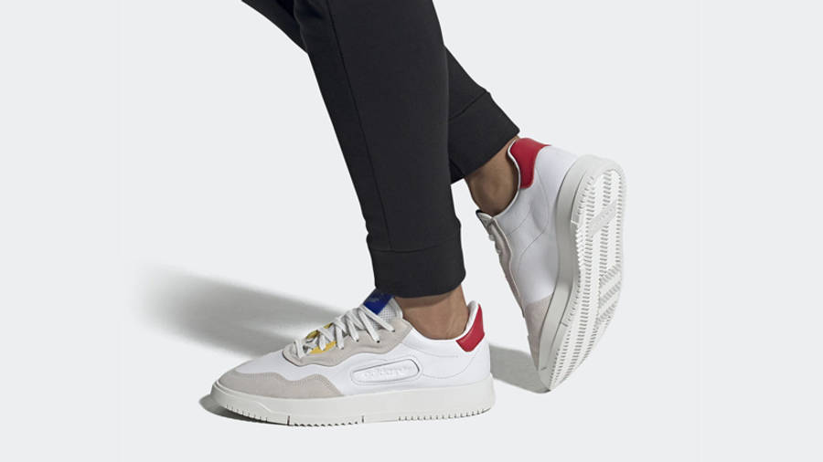 adidas SC Premiere Cloud White On Foot