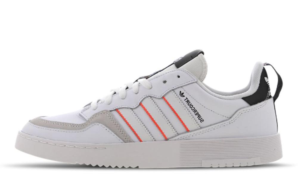 adidas Super Court White Black Red