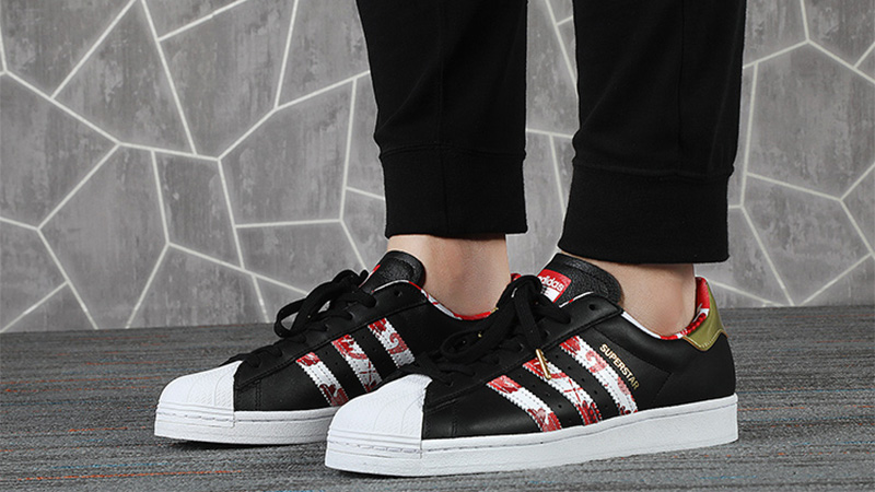 adidas superstar chinese new year red