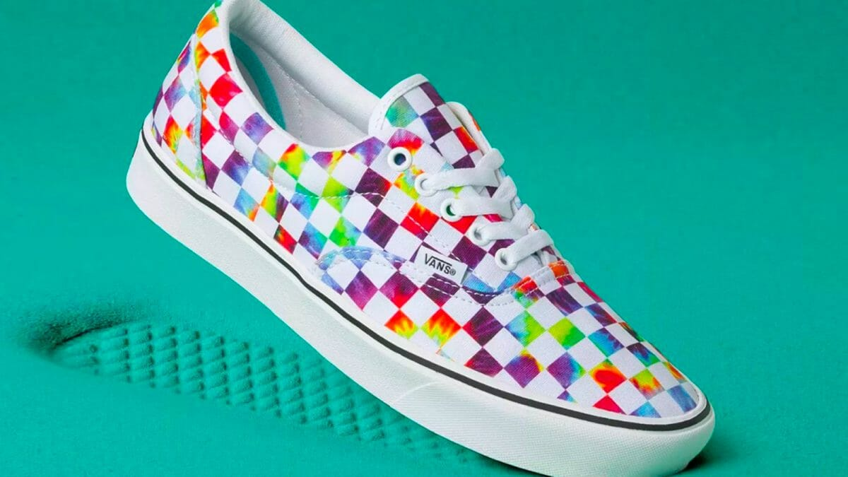 Go Colourful With The Vans ComfyCush