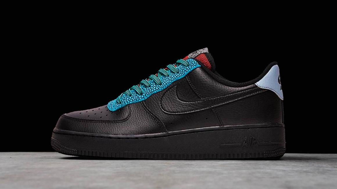 "The Nike Air Force 1 07 LV8 ""Black"