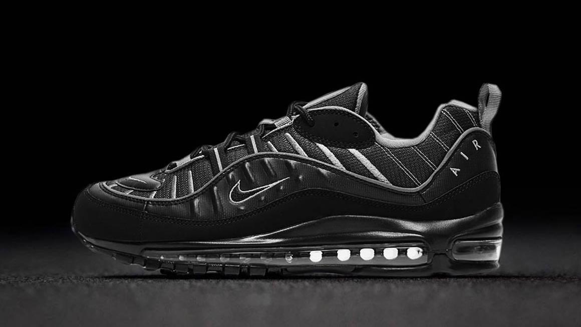 "Nike Air Max 98 ""Black Smoke Grey"