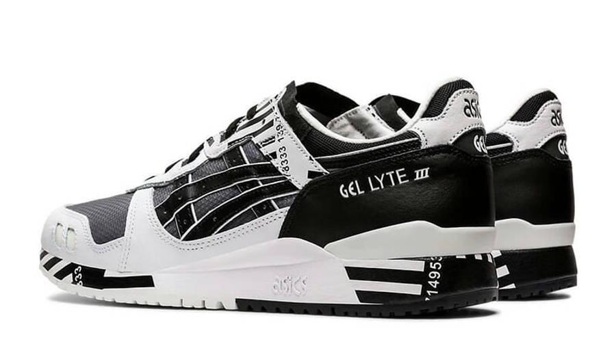 ASICS GeL-Lyte 3 OG Black White 1191A336-001 back