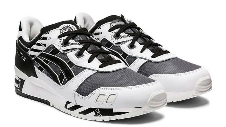 ASICS GeL-Lyte 3 OG Black White 1191A336-001 front