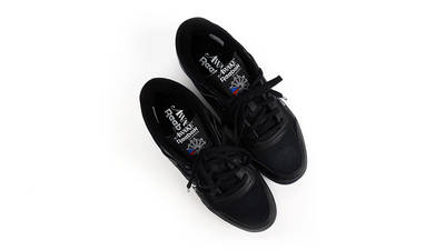 Awake NY x Reebok Workout Low Black from top