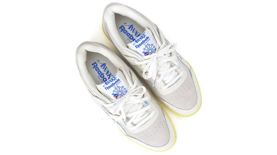 Awake NY x Reebok Workout Low White front
