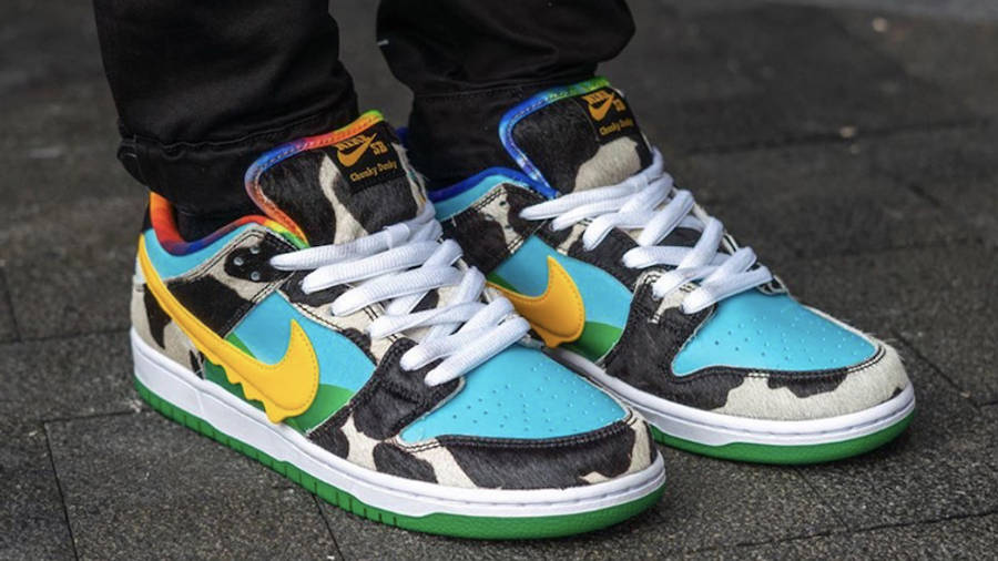 Ben & Jerry x Nike SB Dunk Low Chunky Dunky | Where To Buy ...