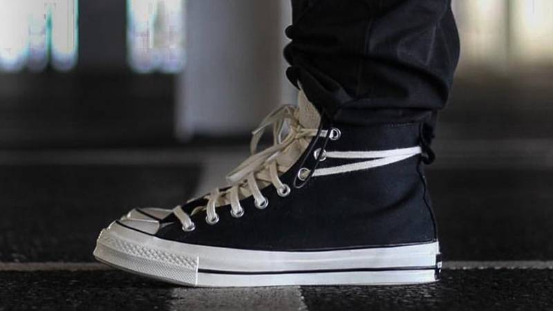 Incompetencia táctica jamón  Fear of God x Converse Chuck 70 Hi Black - Where To Buy - 167954C | The  Sole Supplier