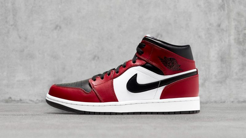 The Jordan 1 Mid Chicago Black Toe Launched Unexpectedly At Nike