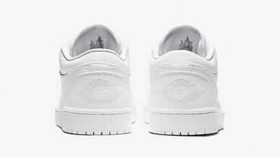 Jordan 1 Low Triple White 553558-130 back