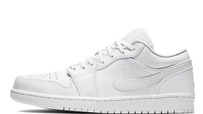 Jordan 1 Low Triple White 553558-130
