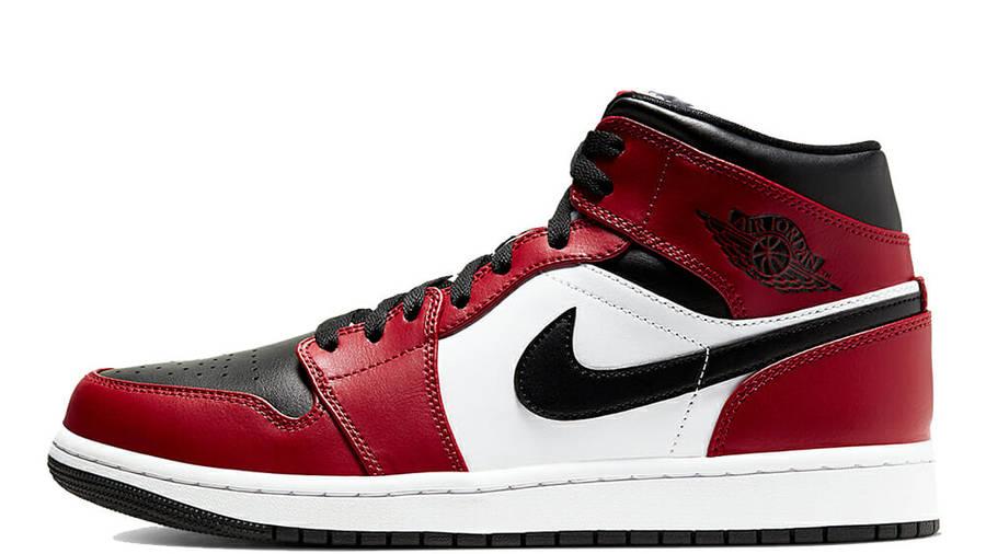 Jordan 1 Mid Chicago Black Toe   Where To Buy   554724-069 ...