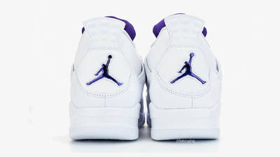Jordan 4 Court Purple Back