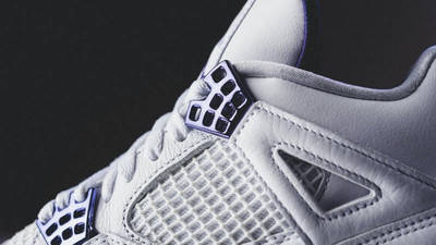 Jordan 4 Court Purple Closeup
