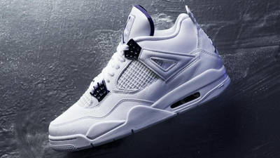 Jordan 4 Court Purple Lifestyle