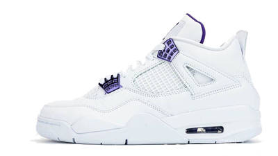 Jordan 4 Court Purple
