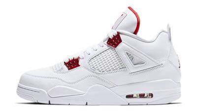 Jordan 4 Metallic Pack White Red