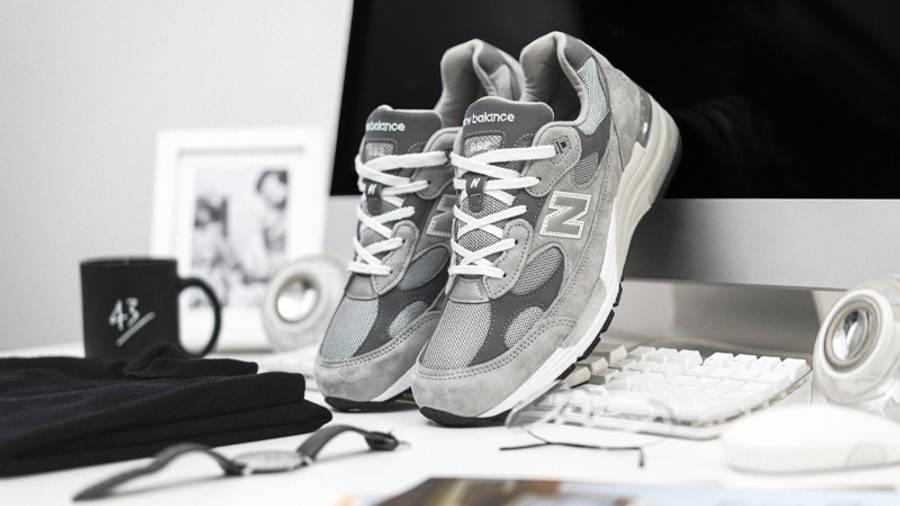 New Balance M992GR Grey Lifestyle 1