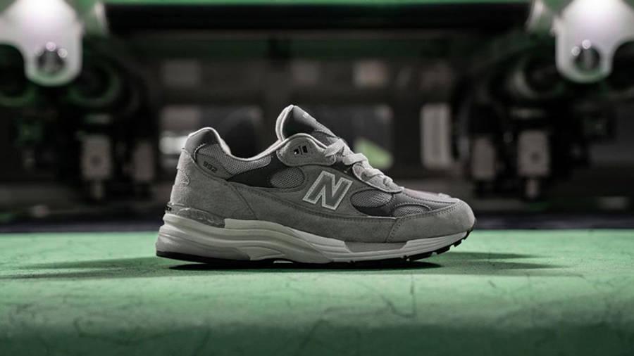 New Balance M992GR Grey Lifestyle 2