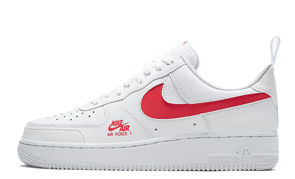 Nike Air Force 1 LV8 Utility White Red
