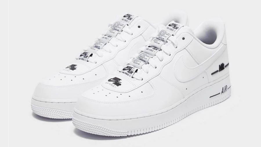 Nike Air Force 1 Low Tape Double Air White | Where To Buy | CJ1379 ...