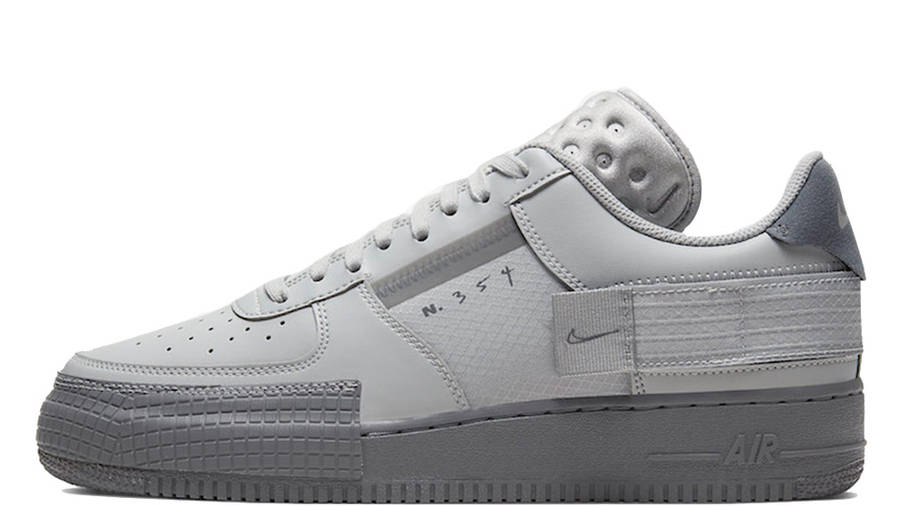 Adolescente Oh querido Anónimo  Nike Air Force 1 Type Grey Fog | Where To Buy | CT2584-001 | The Sole  Supplier