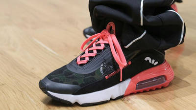 Nike Air Max 2090 Duck Camo Black On Foot 1