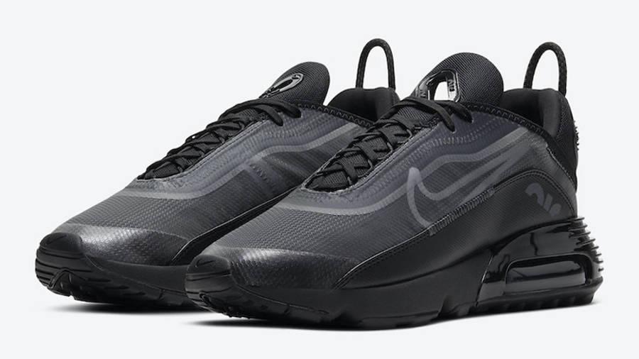 Nike Air Max 2090 Triple Black Front