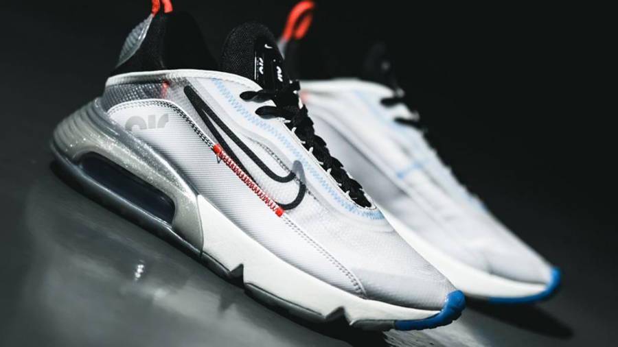 Nike Air Max 2090 White Black Lifestyle 2
