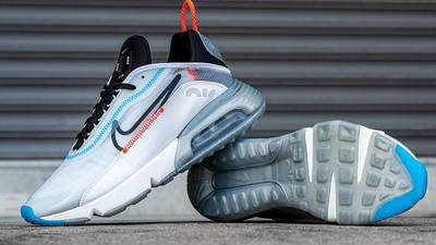 Nike Air Max 2090 White Black Lifestyle 3