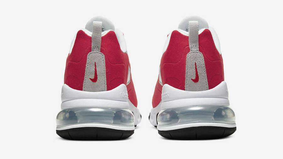 Nike Air Max 270 React White University Red Back